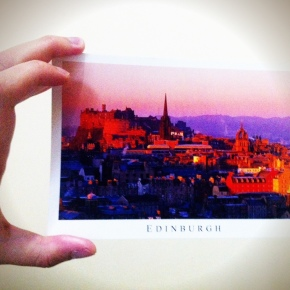 Postcard from Willy: Edinburgh