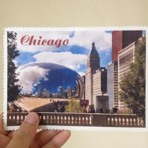 Postcard from Michael: Chicago