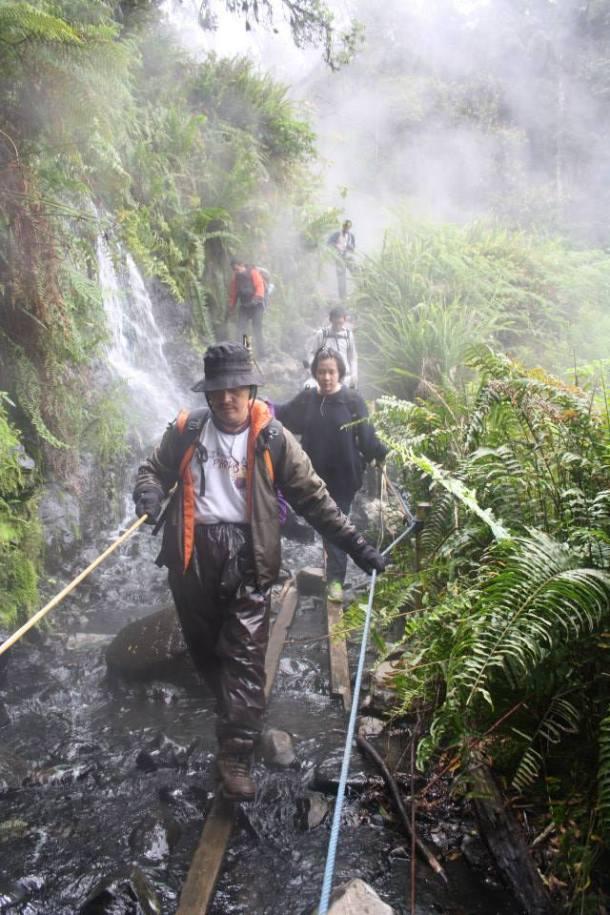 gunung gede cibodas air panas