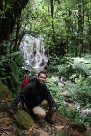 gunung gede cibodas air terjun