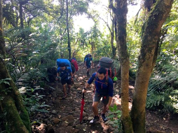 Gunung Gede pendakian